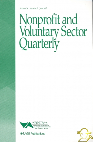 nonprofit and voluntary sector quarterly author guidelines